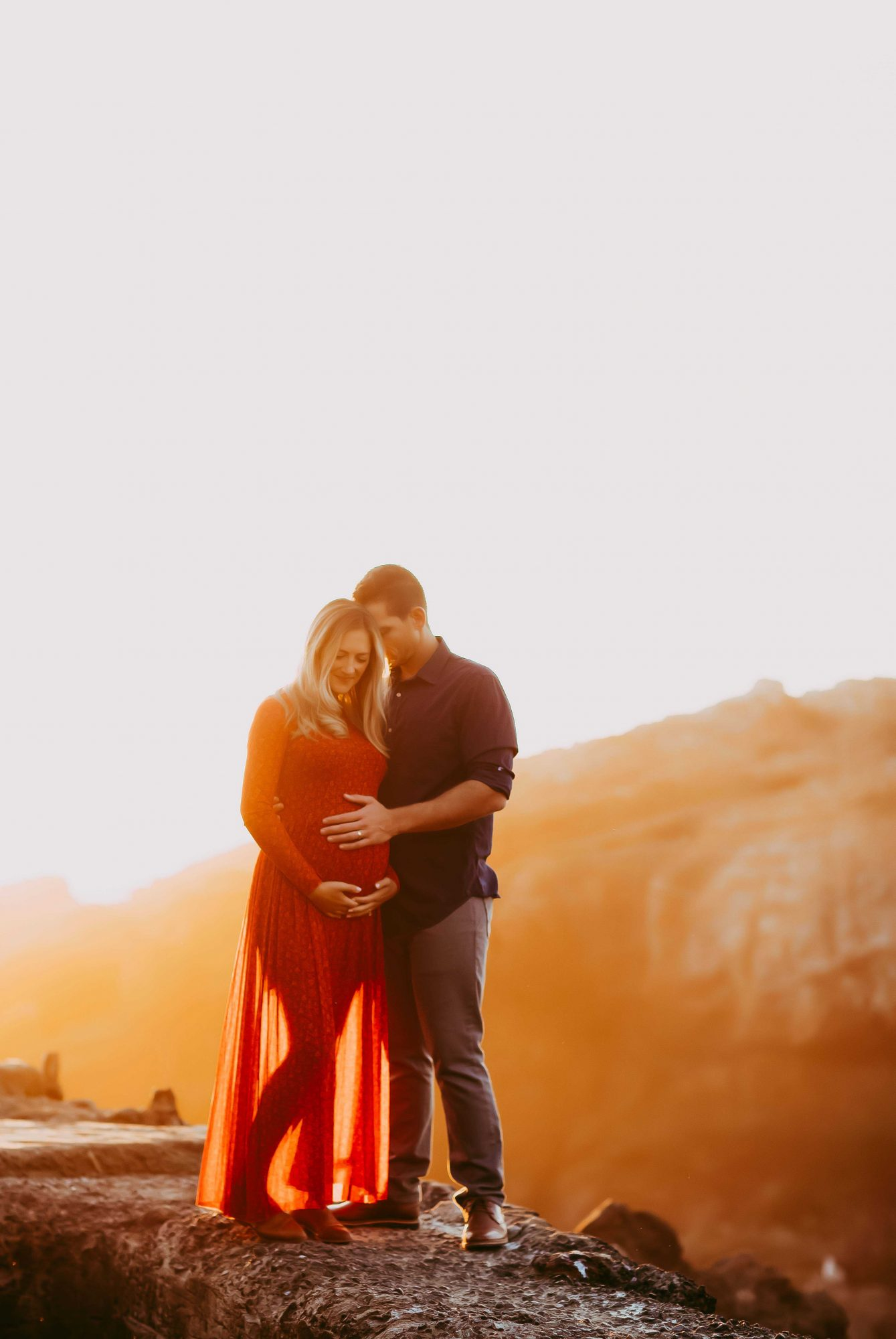 Golden-Hour-Maternity-Session